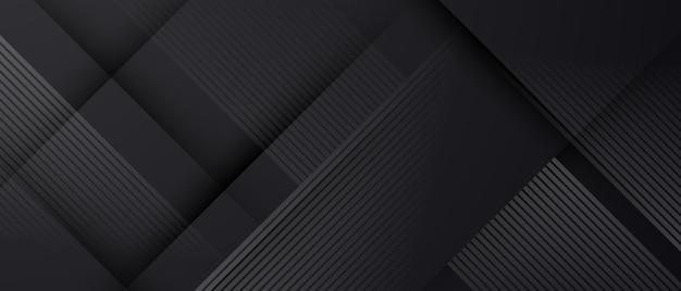 Абстрактный черный узор и динамический фон плакат. иллюстрация в векторном формате.