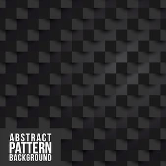 Abstract black pattern background