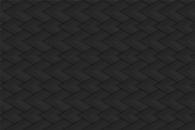 Abstract black steel background with snake scales pattern.