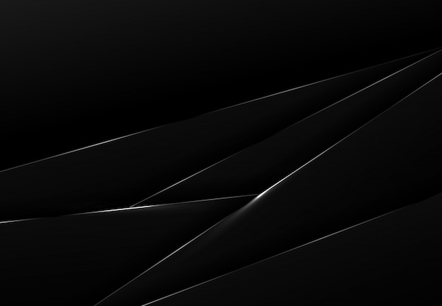 Abstract black tech over lap background.