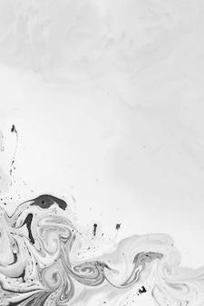 抽象的な黒の水彩画の背景
