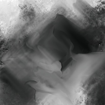 Abstract black watercolor texture background