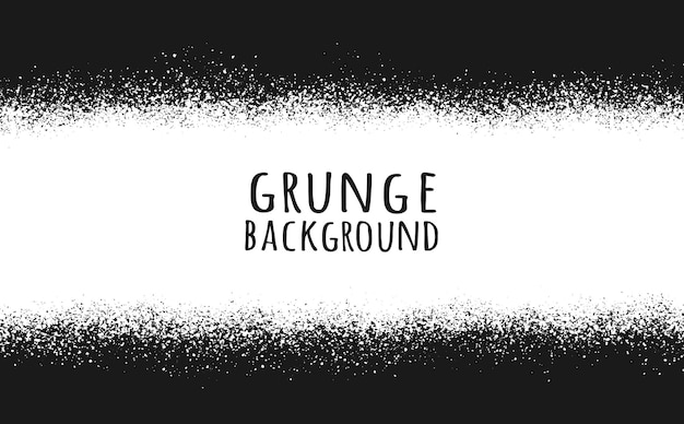 Abstract black and white grunge background