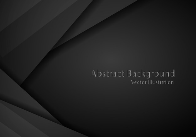 Abstract black with dark frame template