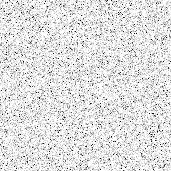 Abstract blot of black circles.