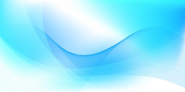 Абстрактный синий и белый фон