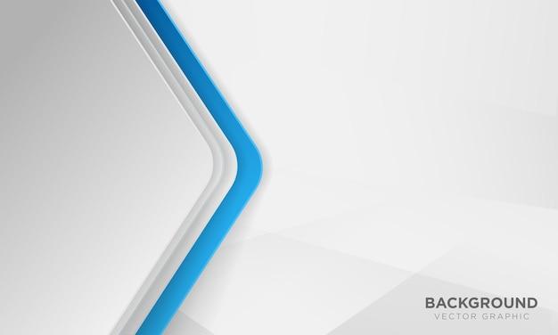 Абстрактный синий и белый фон перекрытия.
