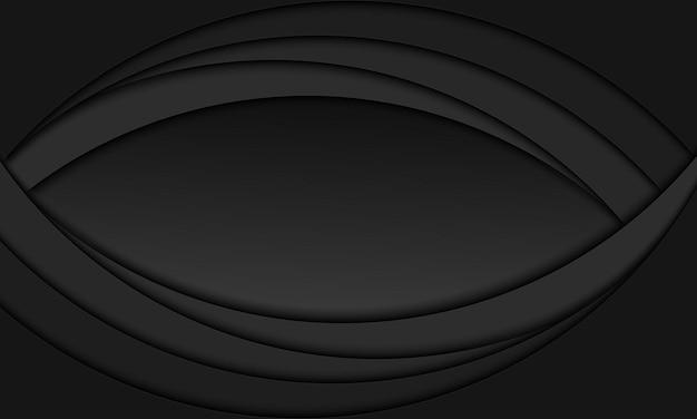 抽象的な青い背景、円形オーバーレイ、曲線パターン