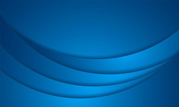 抽象的な青い背景、円形オーバーレイ