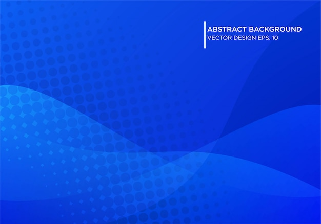 Abstract blue background design with modern shape concpet