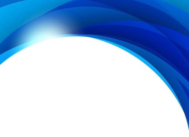 추상 파란색 배경입니다. 삽화