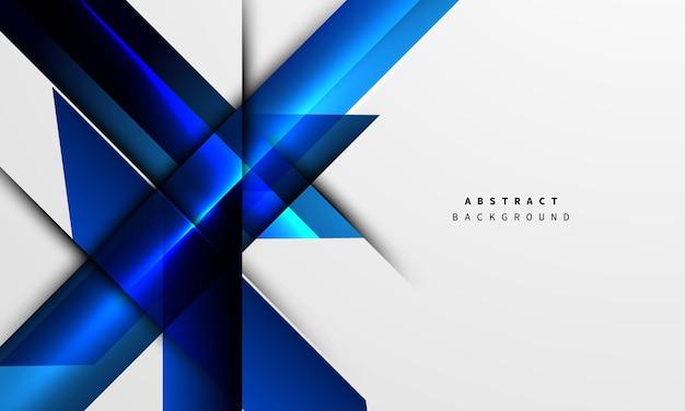 ダイナミックな抽象的な青い背景のポスター。テクノロジーネットワーク