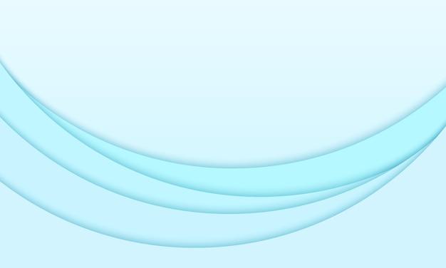 抽象的な青い背景、波のパターン、円形オーバーレイ