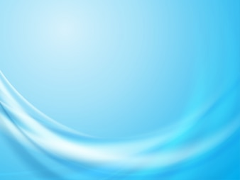Abstract  blue background wave vector