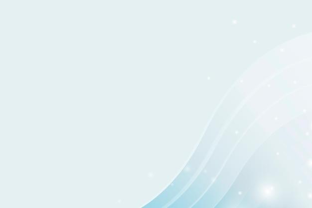 Абстрактный синий фон с кривыми линиями