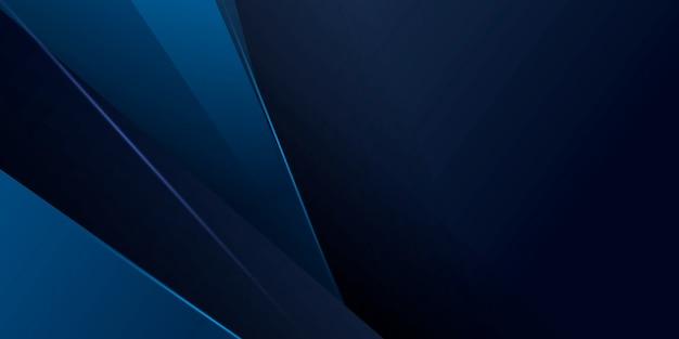 現代技術の概念と抽象的な青い背景