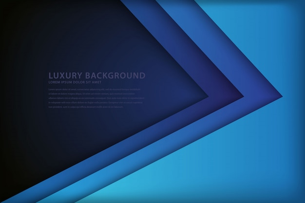 Abstract blue background with overlapping style