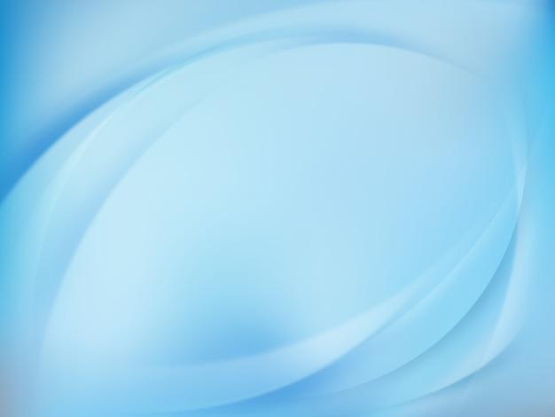 抽象的な青い背景をぼかした写真。