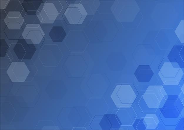 抽象的な青いボケライト効果背景。