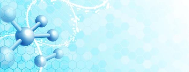 Абстрактный синий яркий. здравоохранение