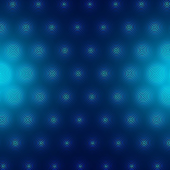 Abstract blue circular pattern background