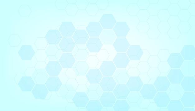 건강 하 고 의료 배경의 추상 파란색입니다.