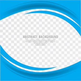 Abstract blue creative business wavy background