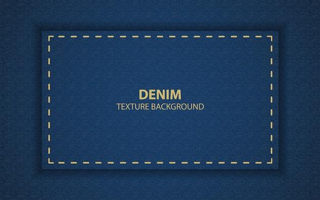 Abstract blue denim texture background