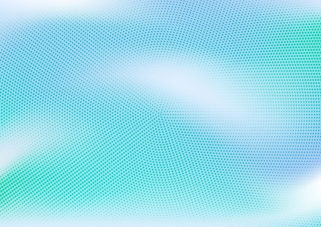 Abstract blue dotted and gradient background