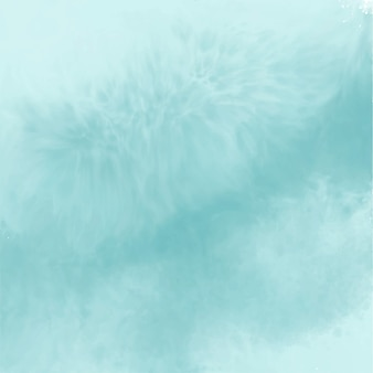 Abstract blue empty watercolor background