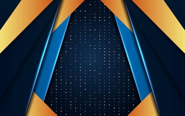 ドットテクスチャの抽象的な青い未来のベクトルの背景