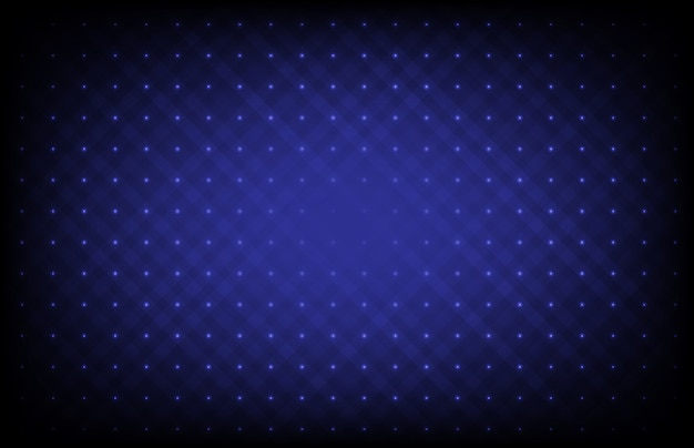 Abstract blue futuristic background with connection dots and line