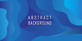 抽象的なブルーの幾何学的形状の背景