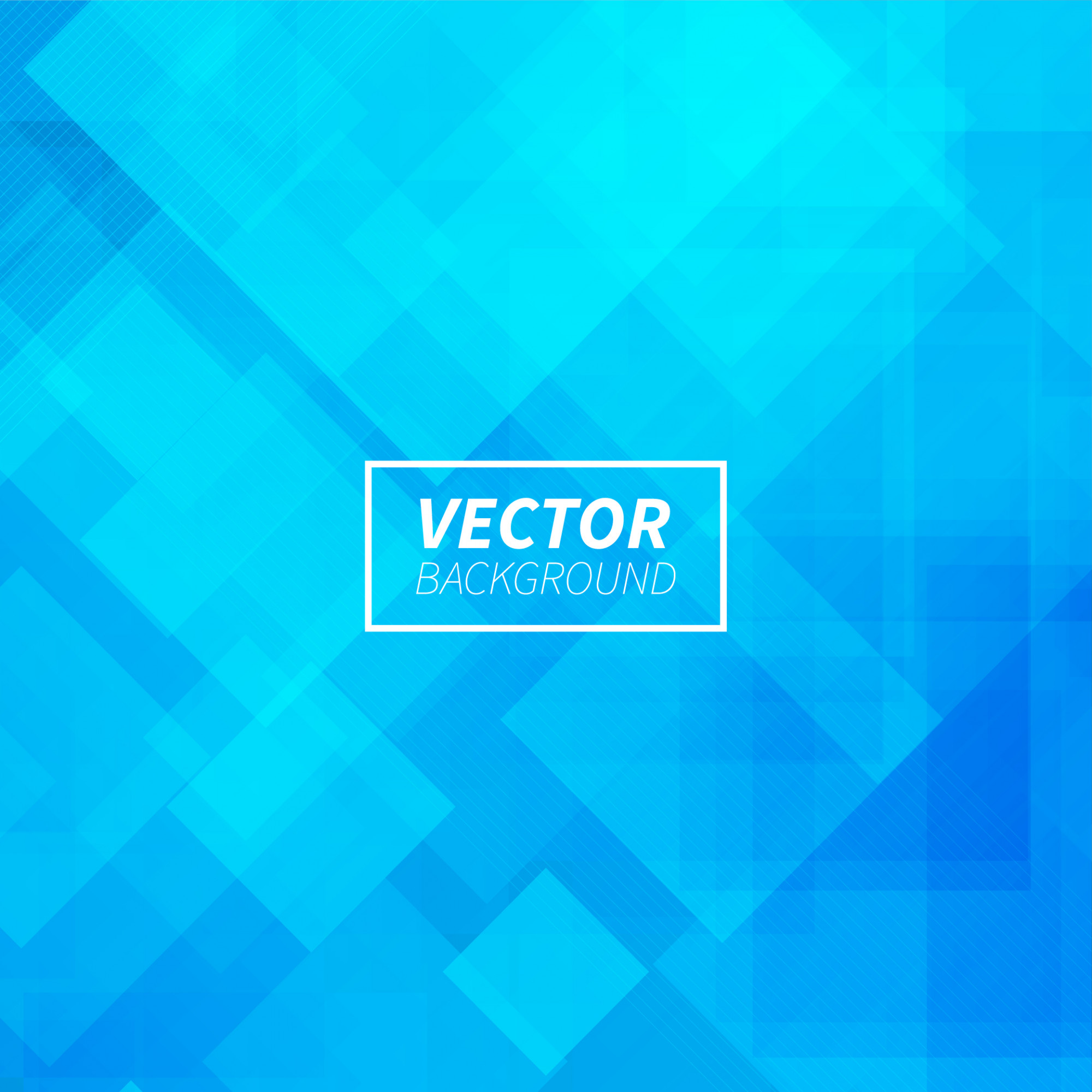 Abstract blue geometric shapes background