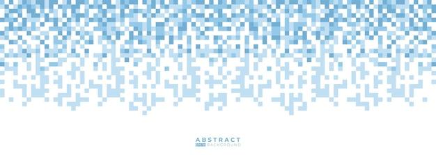 추상 파란색 기하학적 모양 배경