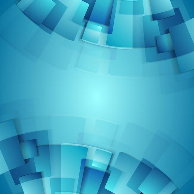 Абстрактный синий фон геометрические технологии. векторный дизайн