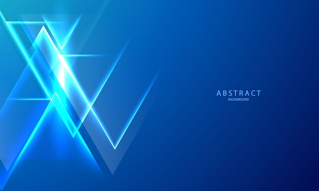 Abstract blue gradient background ecology concept for your graphic design, light effect glowing. neon glow and flash background.
