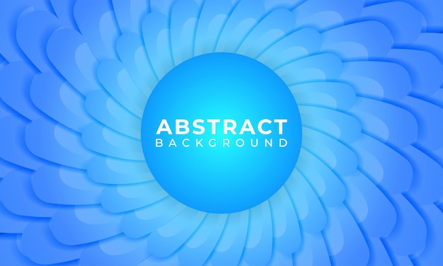Abstract blue gradient shape background
