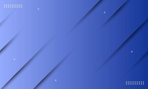 影の効果を持つ抽象的な青いグラデーション。広告、小冊子のパターン。