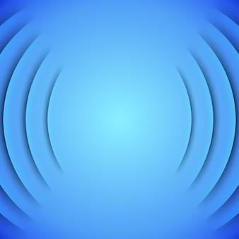 抽象的な青い層