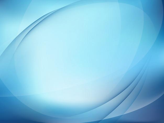 Абстрактный синий светлый фон.