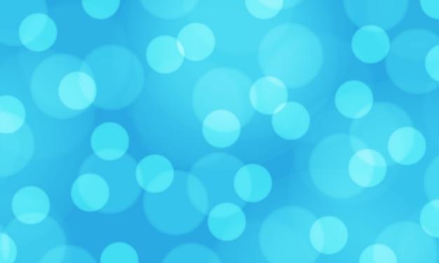 추상적 인 푸른 빛 bokeh 배경 그림 흐림