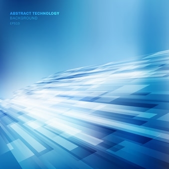 Abstract blue lines overlap layer shiny background