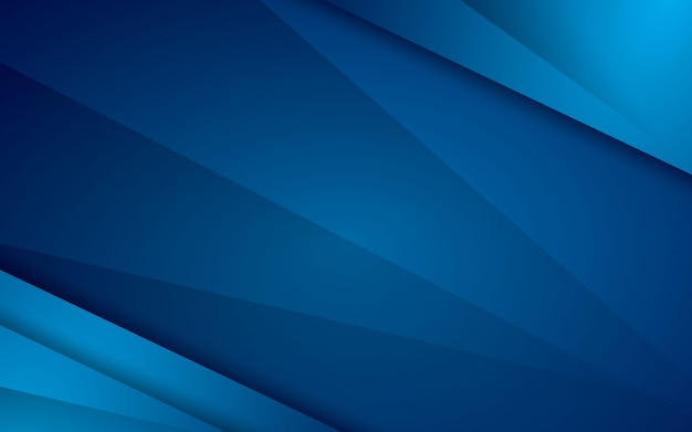 Abstract blue modern vector background overlap layer