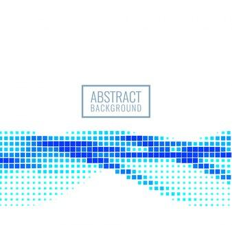 Абстрактный синий фон мозаики