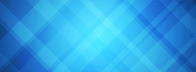 抽象的な青い重なり合う長方形の背景