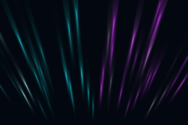 Abstract blue and pink neon perspective lines background. vector illustration.