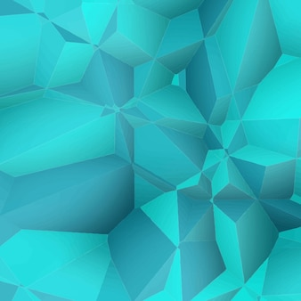추상 블루 다각형 배경