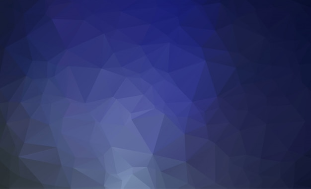 Abstract blue polygonal illustration