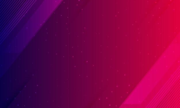幾何学的なパネルと抽象的な青紫色の背景